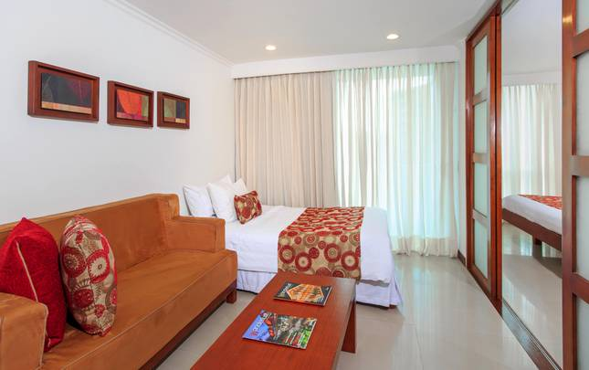Standard suite + Extra bed Hotel The Morgana Poblado Suites Medellín